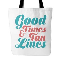 Good times and tan lines Accessory Pouch Wedding Guest Bags, Tanning Tips, Suntan Lotion, Beach Accessories, Beach Ready, Tan Lines, Good Times, Pouch, Reusable Tote Bags