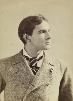 Maurice Barrymore 1849-1905), father of John Barrymore, grandfather of John Drew Barrymore, and great grandfather of actress Drew Barrymore.