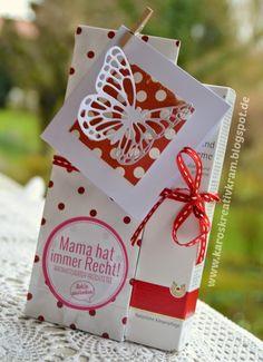 Geschenke in Rot-Weiß