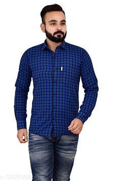 Shirts Cotton Comfy check shirt, Original Brand, Single Pocket, Full sleeves Fabric: Cotton Sleeve Length: Short Sleeves Pattern: Checked Multipack: 1 Sizes: XL (Chest Size: 46 in, Length Size: 31 in)  L (Chest Size: 44 in, Length Size: 30 in)  M (Chest Size: 41 in, Length Size: 29 in)  XXL (Chest Size: 49 in, Length Size: 32 in)  Country of Origin: India Sizes Available: M, L, XL, XXL   Catalog Rating: ★4 (433)  Catalog Name: Classic Retro Men Shirts CatalogID_2303516 C70-SC1206 Code: 483-12072392-9931
