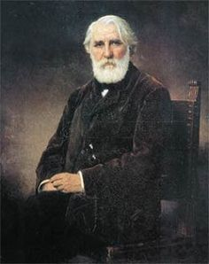 Ivan Toergenjev (9 november 1818 – 3 september 1883) Portret door Aleksej Harlamov, 1876