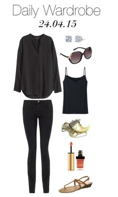 Daily Wardrobe by charlotte-mcfarlane on Polyvore featuring H&M, Jigsaw, Uniqlo, Cassis côte d'azur, ALDO and Yves Saint Laurent