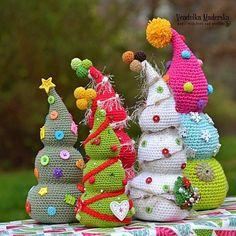 Crochet Christmas tree by VendulkaM.(Inspiration).