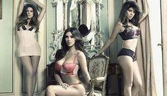 Hermanas Kardashian en ropa interior