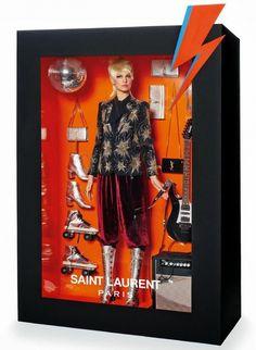 Real Life Designer Barbie Doll From Vogue Paris - hello YSL 'roller-Barbie'...