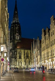 Münster, Germany. Lambertikirche