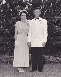 Parents of the Bride Vintage Photograph  5 of 12