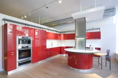 More red kitchens - Scavolini