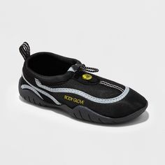 Boys' Body Glove Youth Riptide Iii Water Shoes - Black/Gray 12, Black Gray