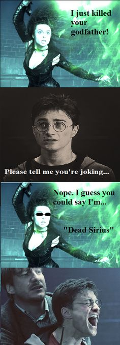 Bellatrix Doesn't Joke...