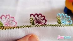 Needle Lace Pattern Pattern Making A Perfect Flower Model Turkish Video . Knitting For Charity, Free Knitting, Stitch Patterns, Knitting Patterns, Free Crochet Bag, Flower Model, Color Kit, Handmade Tags, Needle Lace