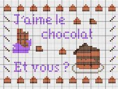 J'aime le chocolat. Et vous? (I love chocolate. And you?) - Les chroniques de Frimousse