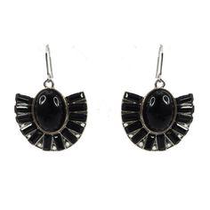 Soho Indy Earring - Black $24.95 #leethal #accessories #fashion