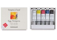 This delicate and subtle medium is capable of detailed and complex effects. Sennelier Egg Tempera is famous. It is a water soluble and highly archival painting medium, wonderful for fine art painting, restoration, and icon painting. Oil Painting Supplies, Titanium White, Oil Painters, Tempera, Amazon Art, Sewing Stores, Artist Painting, Handmade Items, Egg