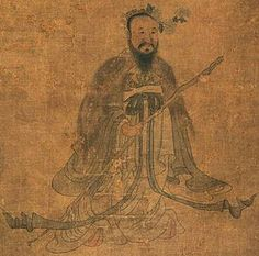 Qu Yuan, who was a poet of Chu state during the Warring States period, jumped into the Miluo River in protest against the imperial corruption of the era. The Dragon Boat Festival honors his memory. Water People, Warring States Period, Literary Genre, The Han Dynasty, Dragon Boat Festival, Taoism, China Painting, Paintings I Love, Japanese Prints