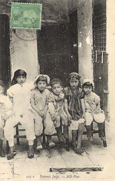 Enfants juifs - Tunisie