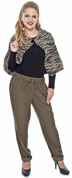 Pelerine Mescla com Fio Fast Plus Ideias Fashion, Harem Pants, Knitting, Knit Jacket, Cape Clothing, Crochet Shawl, Ponchos, Tejidos, Dressmaking