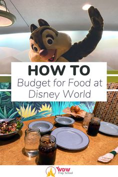 Planning a Disney World trip? Food is one of the budget items you'll need to consider...and we can help!