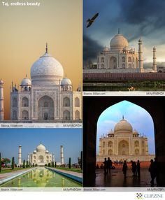 The Taj Mahal is, without a doubt, the most beautiful structure I have ever seen!