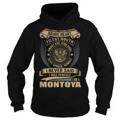 MONTOYA Last Name, Surname T-Shirt