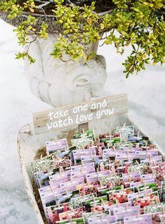 Ik vind dit nog steeds een ontzettend leuk idee voor bedankjes bij een bruiloft! Fotocredit: Lounge Fotografia