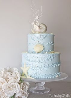 5 Beach Wedding Cake