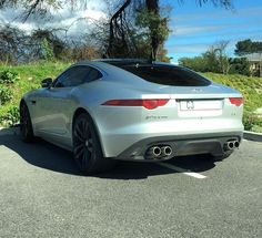 British brute Jaguar F-Type R Coupe seen Paarl by @brandonw4  #ExoticSpotSA #Zero2Turbo #SouthAfrica #Jaguar #FTypeR #Coupe