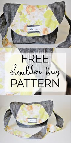 purse week: linen satchel tutorial - see kate sew