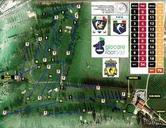 """Percorso di gara 18 buche del Golf Club Villafranca """"Le Vigne"""" affiliato alla @Federfootgolf"""