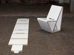 Design Stoel Van Honingraat-Karton
