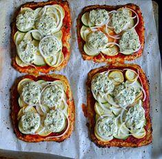 Basil Cauliflower Pizza