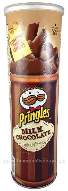 REVIEW: Limited Time Only Milk Chocolate Pringles | The Impulsive Buy