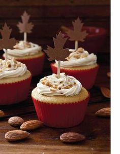 maple syrup cupcakes