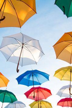 Hd Wallpaper Of Flying Art Hd Wallpaper Umbrellas