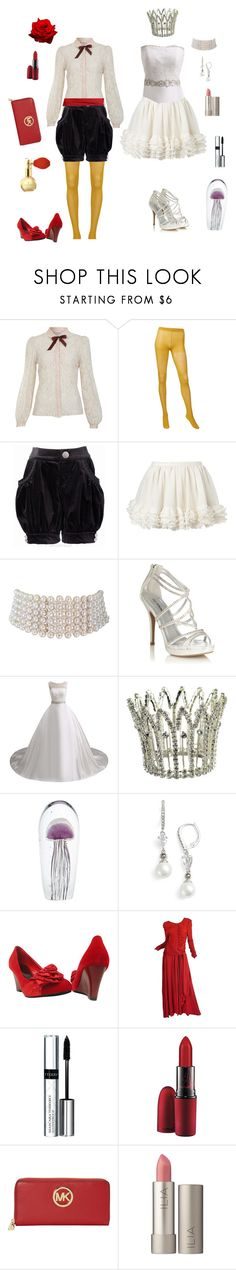 """Kuranosuke Koibuchi-Princess Jellyfish"" by conquistadorofsorts ❤ liked on Polyvore featuring Miss Selfridge, Uniqlo, Marina J., Call it SPRING, Universal Lighting and Decor, Judith Jack, Karl Lagerfeld, By Terry, MAC Cosmetics and MICHAEL Michael Kors"