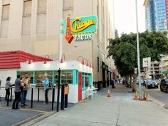 #GoAltaCA | Chicas Tacos has replaced Danny's Tacos on Olive Street, Downtown L.A.