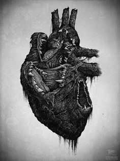 The Heart of a Wolf... #cuore #lupo