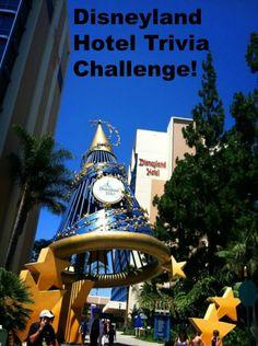 Trivia Challenges at the Disneyland Hotel