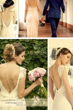 Las Demiero : www.lasdemiero.com  https://www.facebook.com/demiero/ #lasdemiero #bodas #novias #vestidodenovia #vestidossirena #vestidosbordados #casamientos #noviavintage