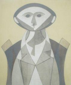 1915-Milton Rodrigues da Costa, mais conhecido como Milton Dacosta, (Niterói, 19 de outubro de 1915 — Rio de Janeiro, 4 de setembro de 1988) foi um pintor, desenhista, gravador e ilustrador brasileiro. Foi casado durante 37 anos com a pintora Maria Leontina
