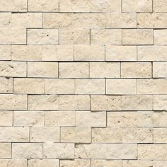Mediterranean Ivory Split Face Travertine Backsplash Tile Daltile