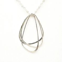 Fab.com | Wing Trio Necklace Sterling