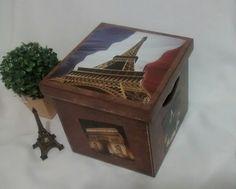 Caixa Organizadora Paris Torre Couro