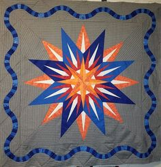 Vintage Compass, Quiltworx.com, Made by Kimberly Whitis Vintage Compass, Barn Quilt Patterns, Bohemian Pattern, Foundation Paper Piecing, Quilt Making, Vintage Patterns, Quilts, Free, Inspiration