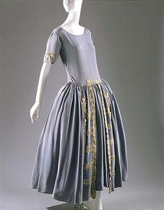 Robe de Style Jeanne Lanvin 1922