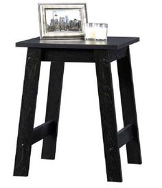 Small Home Office Black End Table Living Room Accent Side Sofa Stand Furniture #SmallHomeOfficeBlack