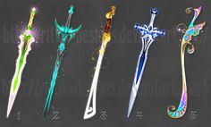 Swords adopts 10 (CLOSED) by Rittik-Designs