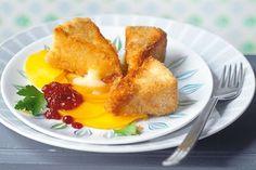 Przygotuj pyszny smażony camembert z brzoskwiniowym carpaccio. Przepis na francuskie danie znajdziesz na stronie Kuchni Lidla!