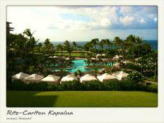Ritz-Carlton Kapalua, Maui, Hawaii