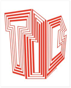 Type Director's Club posters by Paula Scher